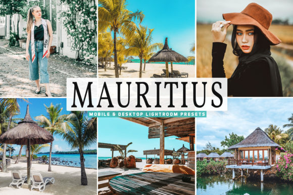 Download Free Mauritius Pro Lightroom Presets Graphic By Creative Tacos Creative Fabrica for Cricut Explore, Silhouette and other cutting machines.