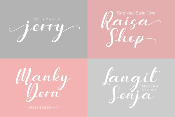 Download Free Meuthia Font By Awansenja Type Creative Fabrica for Cricut Explore, Silhouette and other cutting machines.