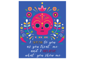 Print on Demand: Mexico Frida Chic Quotes Graphic Illustrations By Fernanda Santistevan Z
