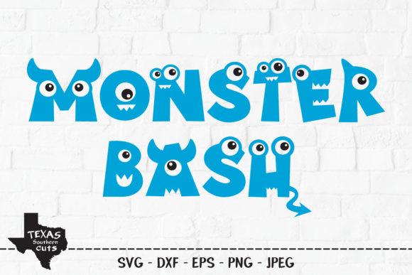 Download Free Monster Bash Halloween Shirt Design Graphic By for Cricut Explore, Silhouette and other cutting machines.