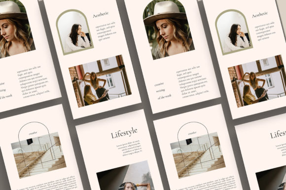 Download Free Patrice Instagram Templates Graphic By Qohhaarqhaz Creative for Cricut Explore, Silhouette and other cutting machines.