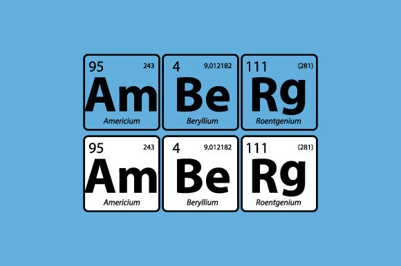 Periodic Table Amberg Bayern Vector Graphic By Graphicsfarm