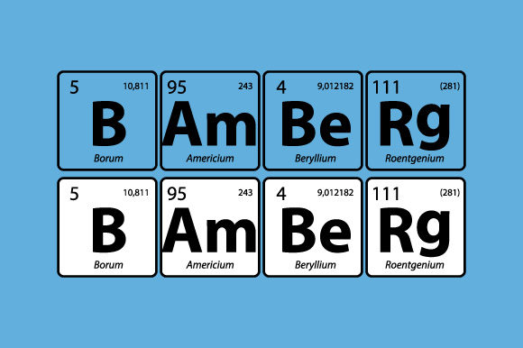 Download Free Periodic Table Bamberg Bayern Vector Svg Graphic By Graphicsfarm for Cricut Explore, Silhouette and other cutting machines.