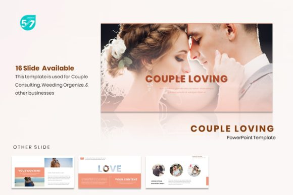 Powerpoint Template Couple Loving Graphic By Maju57creative