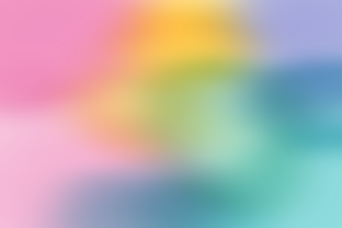 Print on Demand: Rainbow Gradient Ombre Glazed Background Graphic Backgrounds By AM Digital Designs