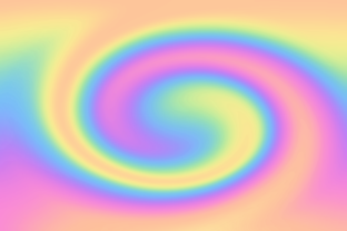 Print on Demand: Rainbow Swirl Background Texture Graphic Graphic Backgrounds By AM Digital Designs