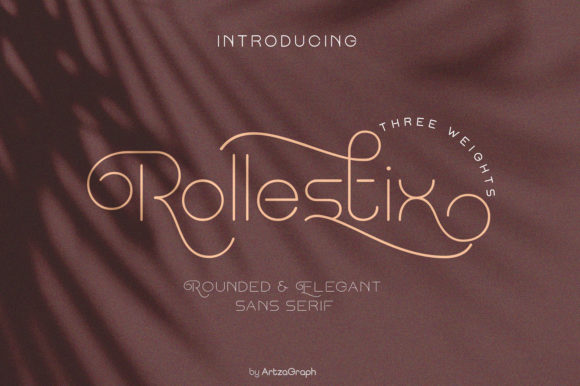 Print on Demand: Rollestix Sans Serif Font By artzagraph