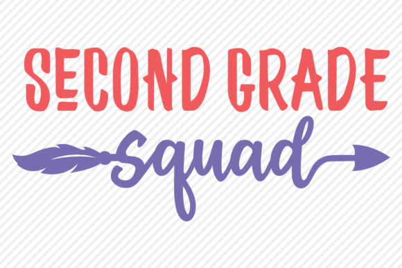 Download Free Second Grade School Shirt Design Graphic By Texassoutherncuts for Cricut Explore, Silhouette and other cutting machines.