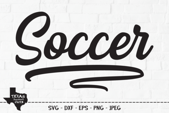 Download Free Soccer Sports Shirt Design Graphic By Texassoutherncuts for Cricut Explore, Silhouette and other cutting machines.