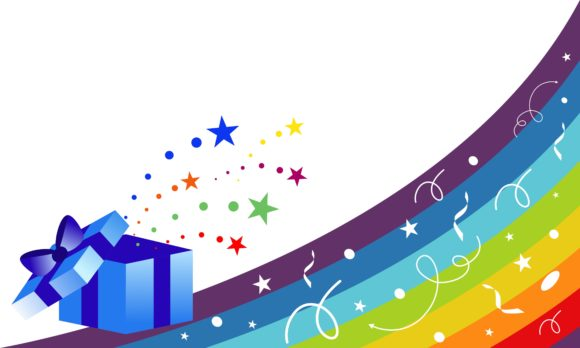 Surprise and Star Celebration, Sprinkles Graphic Logos By 2qnah