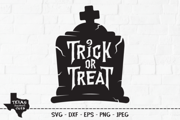 Trick Or Treat Halloween Shirt Design Graphic By Texassoutherncuts Creative Fabrica
