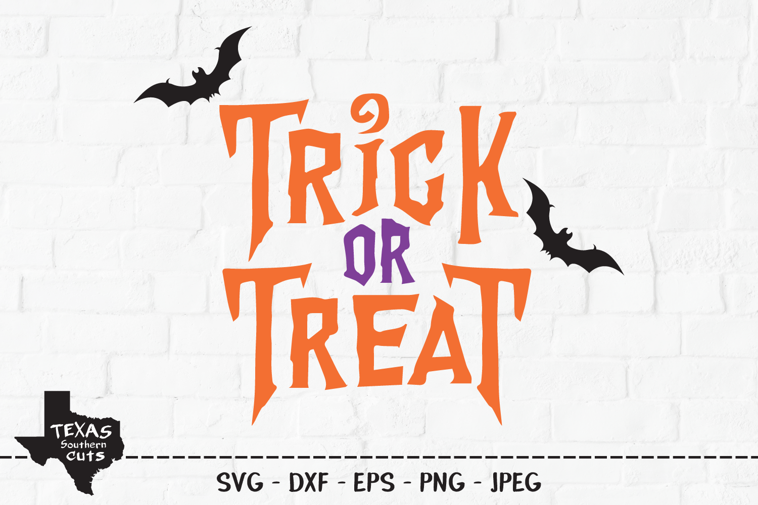 Download Free Trick Or Treat Halloween Shirt Design Graphic By for Cricut Explore, Silhouette and other cutting machines.