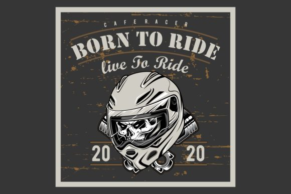 Download Free Vintage Motorcycle T Shirt Graphics Graphic By Epic Graphic for Cricut Explore, Silhouette and other cutting machines.