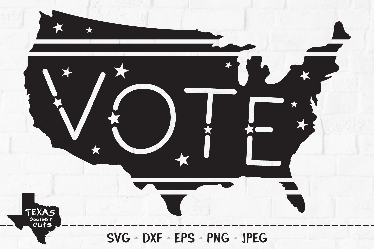 Download Free Vote Patriotic Shirt Design Graphic By Texassoutherncuts for Cricut Explore, Silhouette and other cutting machines.