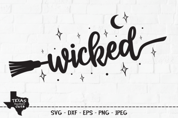 Download Free Wicked Halloween Shirt Design Graphic By Texassoutherncuts for Cricut Explore, Silhouette and other cutting machines.