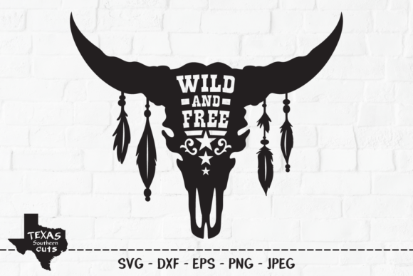 Download Free Wild And Free Country Shirt Design Graphic By for Cricut Explore, Silhouette and other cutting machines.