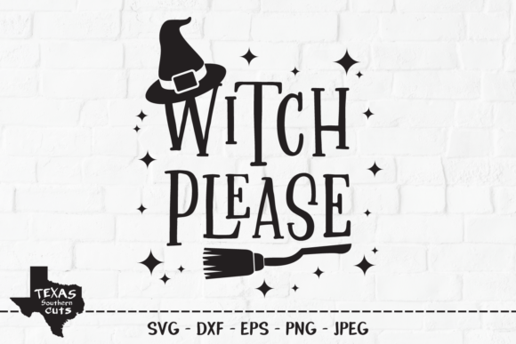 Download Free Witch Please Halloween Shirt Design Graphic By for Cricut Explore, Silhouette and other cutting machines.
