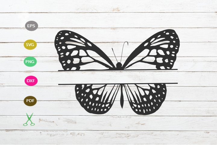 Download Free Butterfly Cut File Graphic By Scmdesign Creative Fabrica for Cricut Explore, Silhouette and other cutting machines.
