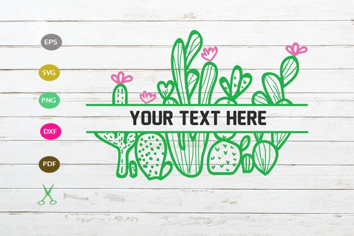 Download Free Cactus Cut File Graphic By Scmdesign Creative Fabrica for Cricut Explore, Silhouette and other cutting machines.