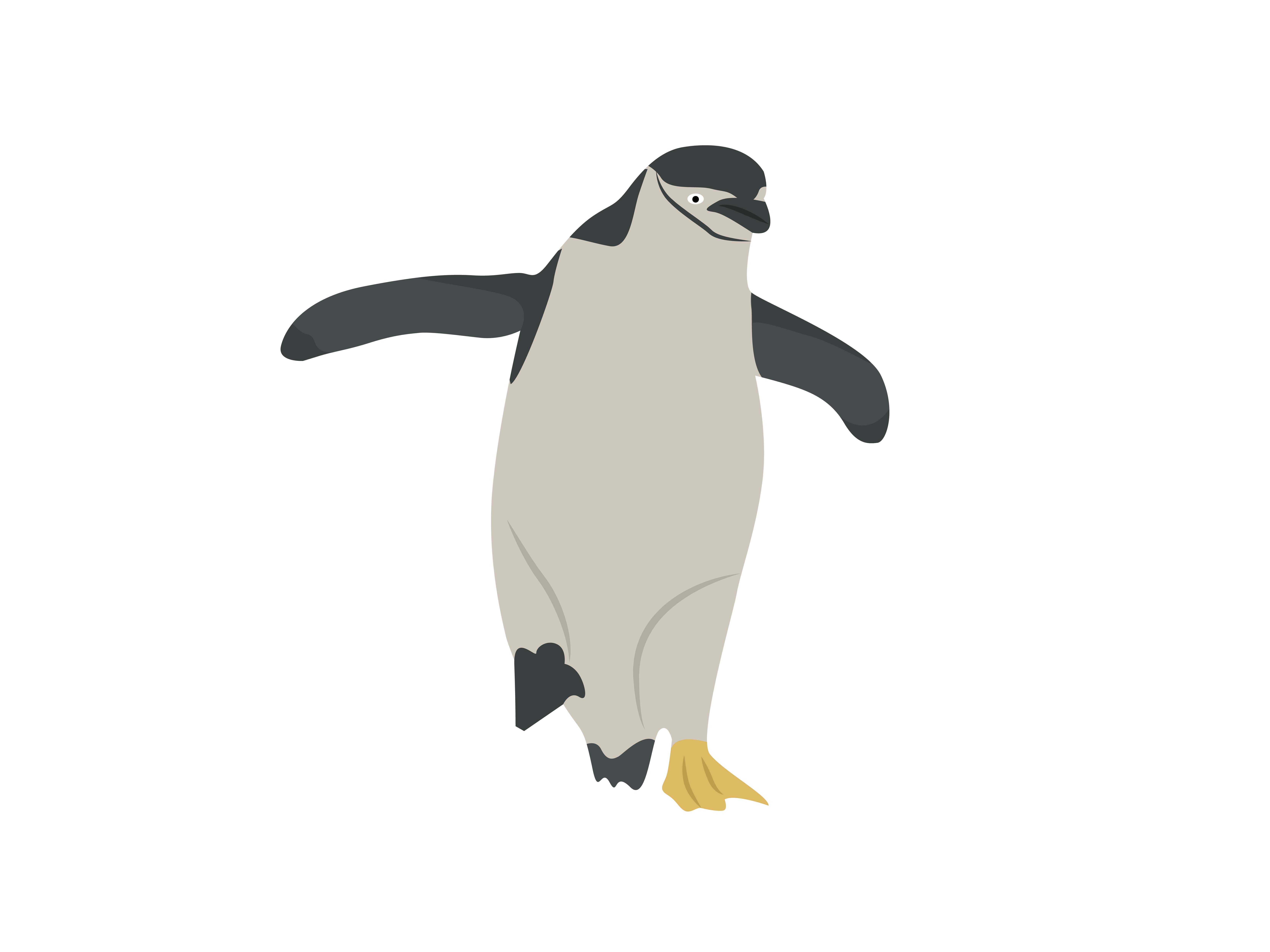 Download Free Dancing Penguins Animal Graphic By Archshape Creative Fabrica for Cricut Explore, Silhouette and other cutting machines.