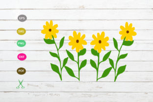 Download Free Sunflower Cut File Graphic By Scmdesign Creative Fabrica for Cricut Explore, Silhouette and other cutting machines.