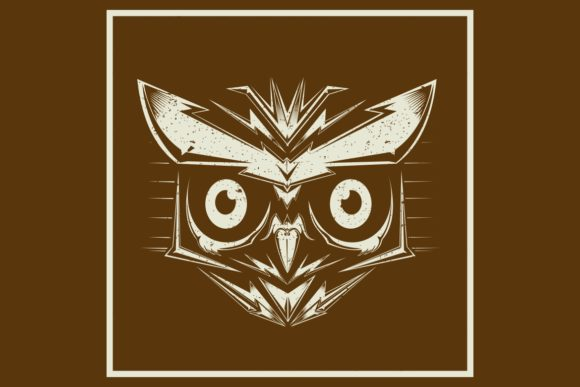 Download Free Grunge Stylevector Owl Bird Heads Graphic By Epic Graphic for Cricut Explore, Silhouette and other cutting machines.