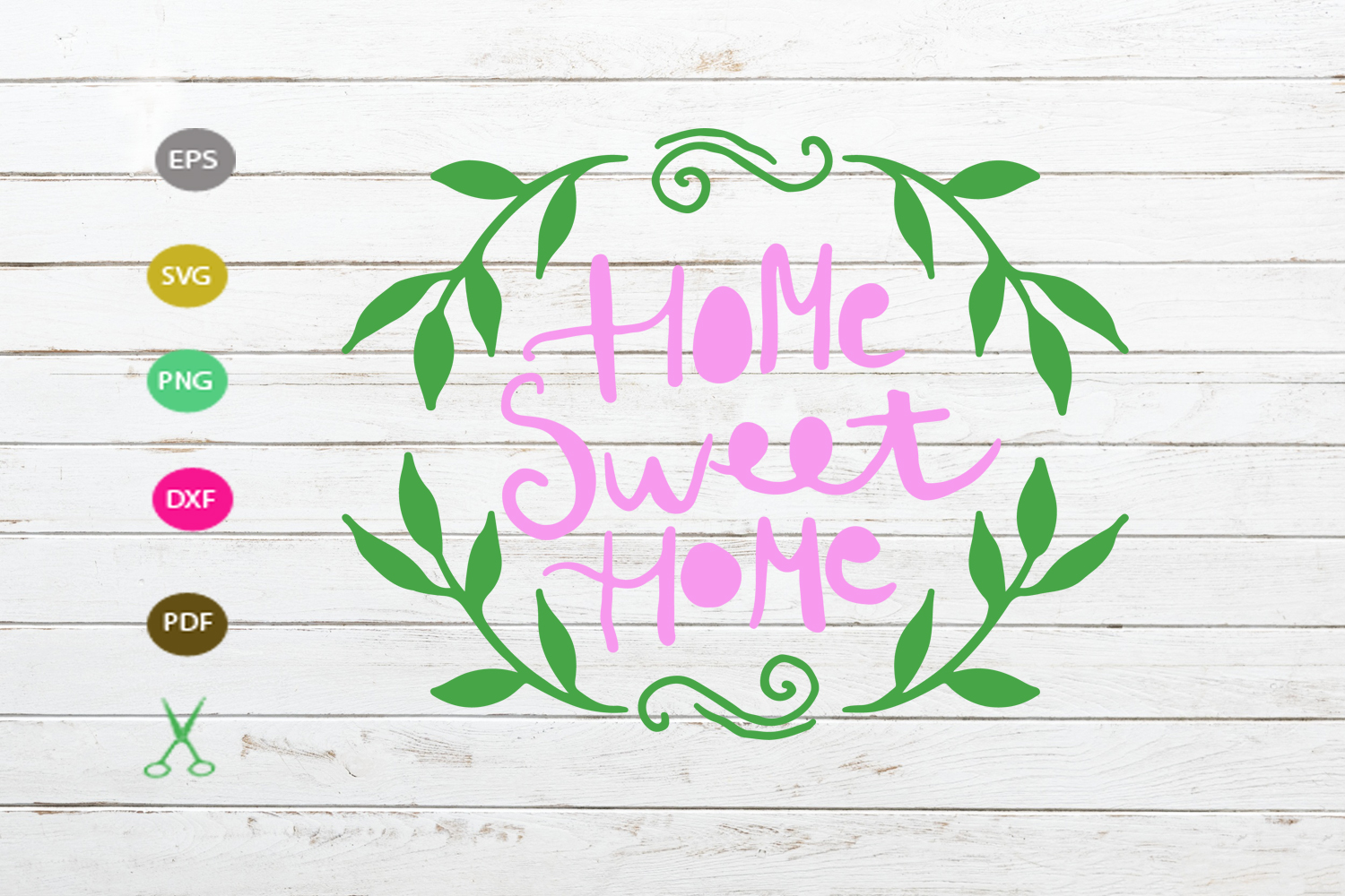 Download Free Home Sweet Home Graphic By Scmdesign Creative Fabrica for Cricut Explore, Silhouette and other cutting machines.