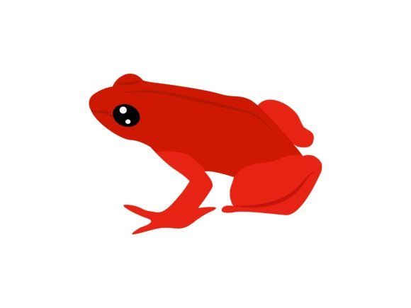 Download Free Leptofelis Frog Animal Graphic By Archshape Creative Fabrica for Cricut Explore, Silhouette and other cutting machines.