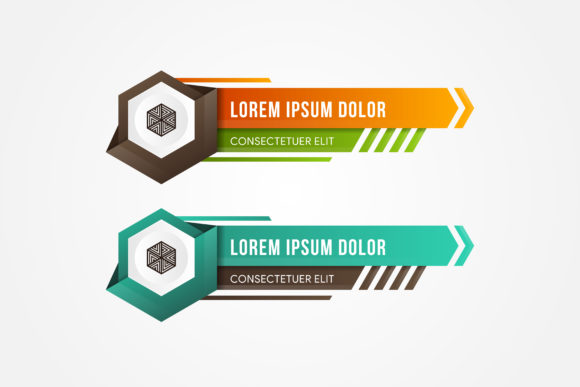 Print on Demand: Panel Element Game Brown Place Hexagon Graphic Graphic Templates By noory.shopper