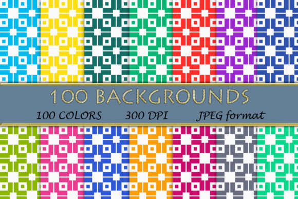 Download Free 100 Geometric Patterns 106 Graphic By Sweetdesign Creative Fabrica for Cricut Explore, Silhouette and other cutting machines.