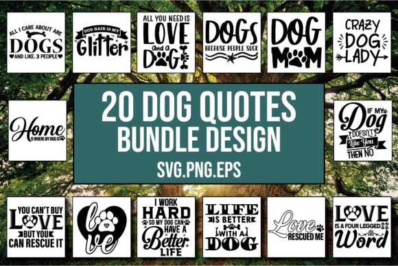 Download Free 20 Dog Designs Bundle Graphic By Patternfeed Creative Fabrica SVG Cut Files