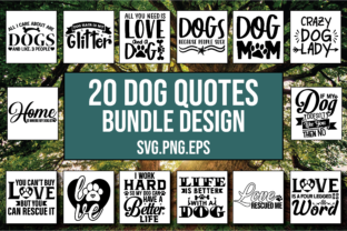 Download Free 20 Dog Designs Bundle Graphic By Patternfeed Creative Fabrica for Cricut Explore, Silhouette and other cutting machines.