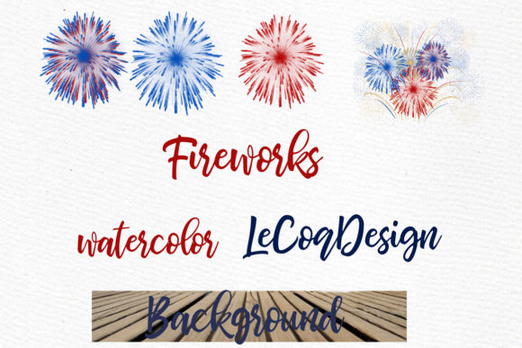4th of July Family Clipart Graphic Illustrations By LeCoqDesign - Image 5