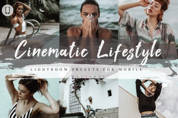 Download Free 5 Cinematic Lifestyle Mobile Lightroom Graphic By 3motional for Cricut Explore, Silhouette and other cutting machines.