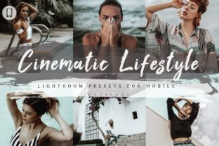 Print on Demand: 5 Cinematic Lifestyle Mobile Lightroom Graphic Actions & Presets By 3Motional