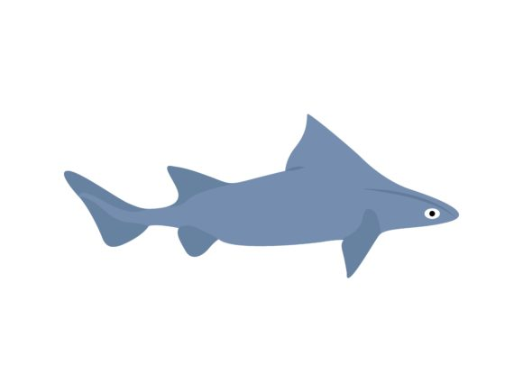 Download Free Carcharhinidae Shark Fish Animal Graphic By Archshape Creative for Cricut Explore, Silhouette and other cutting machines.