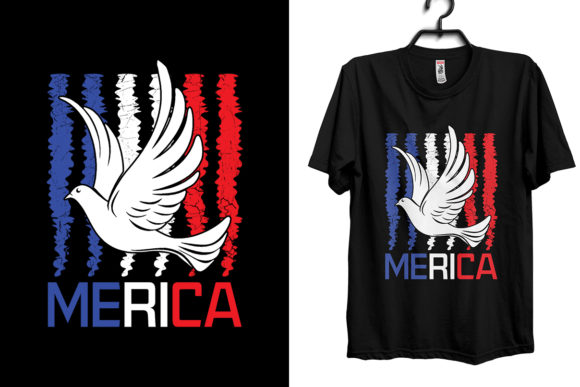 Download Free Fourth Of July Independence Day T Shirt Graphic By Storm Brain for Cricut Explore, Silhouette and other cutting machines.