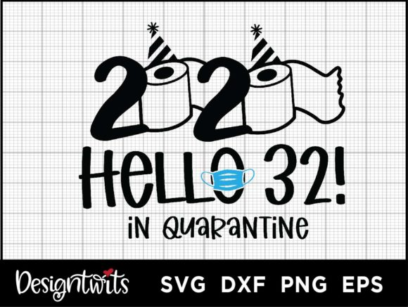 Download Free Hello 32 2020 Graphic By Spoonyprint Creative Fabrica for Cricut Explore, Silhouette and other cutting machines.