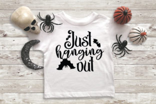 Download Free Halloween Just Hanging Out Graphic By Simply Cut Co Creative for Cricut Explore, Silhouette and other cutting machines.
