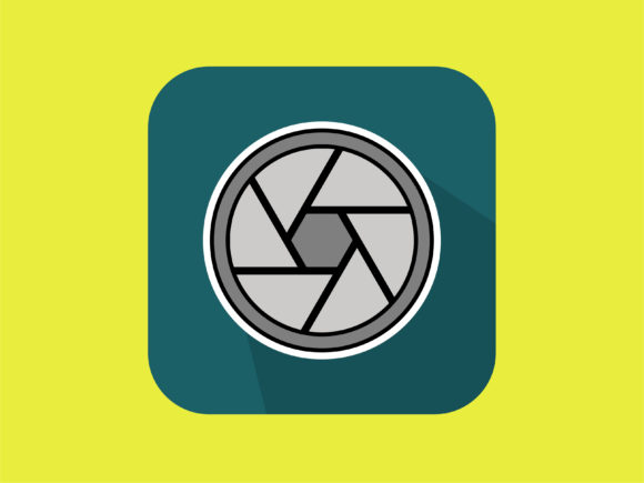 Download Free Icon Camera Lens New Graphic By Meandmydate Creative Fabrica for Cricut Explore, Silhouette and other cutting machines.