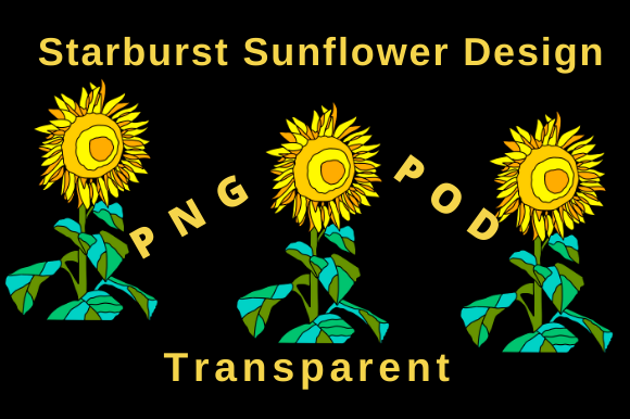 Download Free Starburst Sunflower Design Graphic By Tuxcat Design Creative for Cricut Explore, Silhouette and other cutting machines.