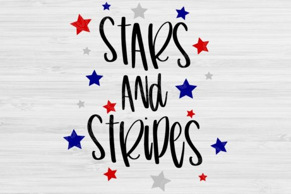 Download Free Stars And Stripes 4th Of July Graphic By Tiffscraftycreations for Cricut Explore, Silhouette and other cutting machines.