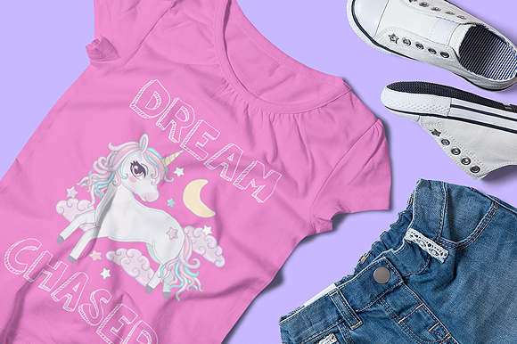 Print on Demand: Unicorn Clipart Collection Graphic Illustrations By JM_Graphics - Image 6
