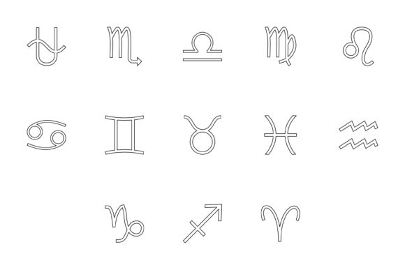 Download Free Money Symbol Black Color Set Outline Graphic By Magistr0505 for Cricut Explore, Silhouette and other cutting machines.