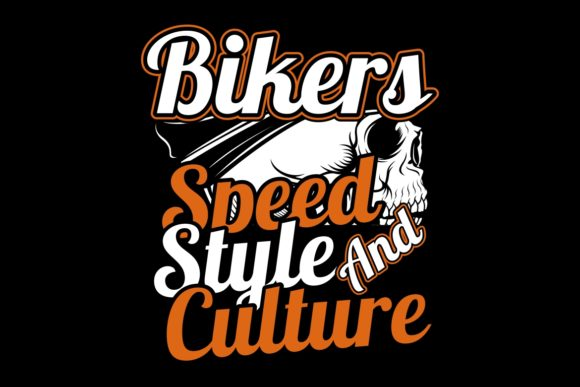Download Free Skull Bikers Speed Style And Culture Graphic By Epic Graphic for Cricut Explore, Silhouette and other cutting machines.