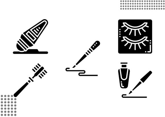 Download Free 94 Cosmetology Designs Graphics for Cricut Explore, Silhouette and other cutting machines.