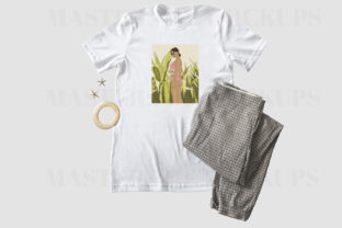 Bella Canvas T-Shirt Flat Lay Trousers Graphic Product Mockups By Masters of Mockups 2
