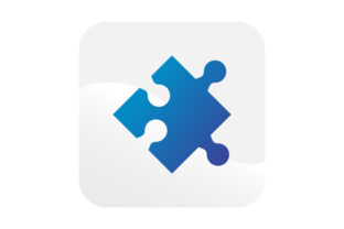 Blue Puzzle Icon Graphic Icons By samagata