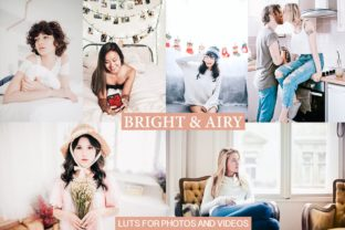 Bright Airy for Photos and Videos Graphic Actions & Presets By Visual Filters