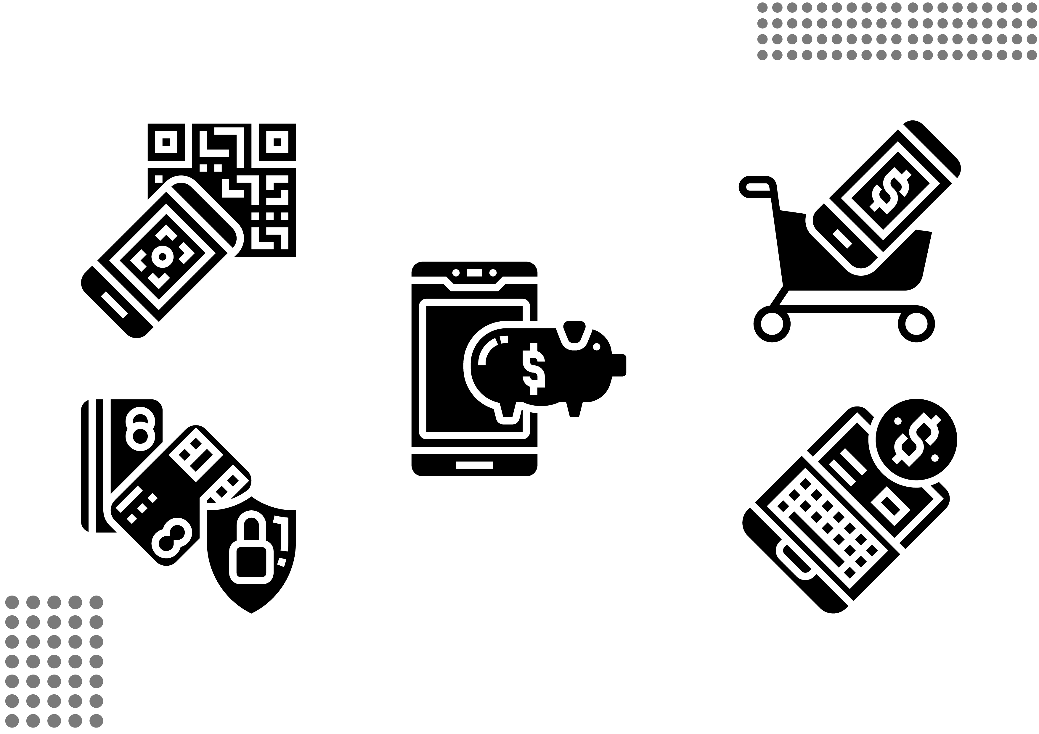 Download Free Cashless Society Fill Graphic By Cool Coolpkm3 Creative Fabrica SVG Cut Files